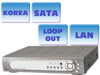 8-channel MPEG4 REAL-TIME DVR