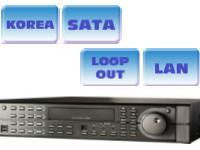 8-channel MPEG4 DVR